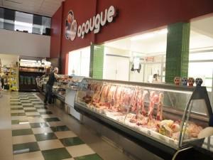 Expositor Refrigerado Vidro Curvo para carnes