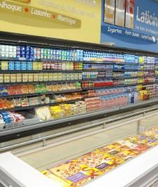 Expositor lateral para Laticínios Refrigerado