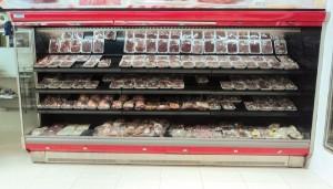 Expositor Vertical Aberto Refrigerado para carnes embaladas