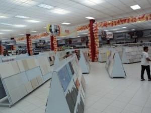 Expositor central para Pisos e Azulejos