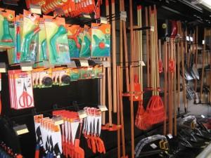 Gôndola para ferramentas