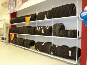 Gôndola para pneus