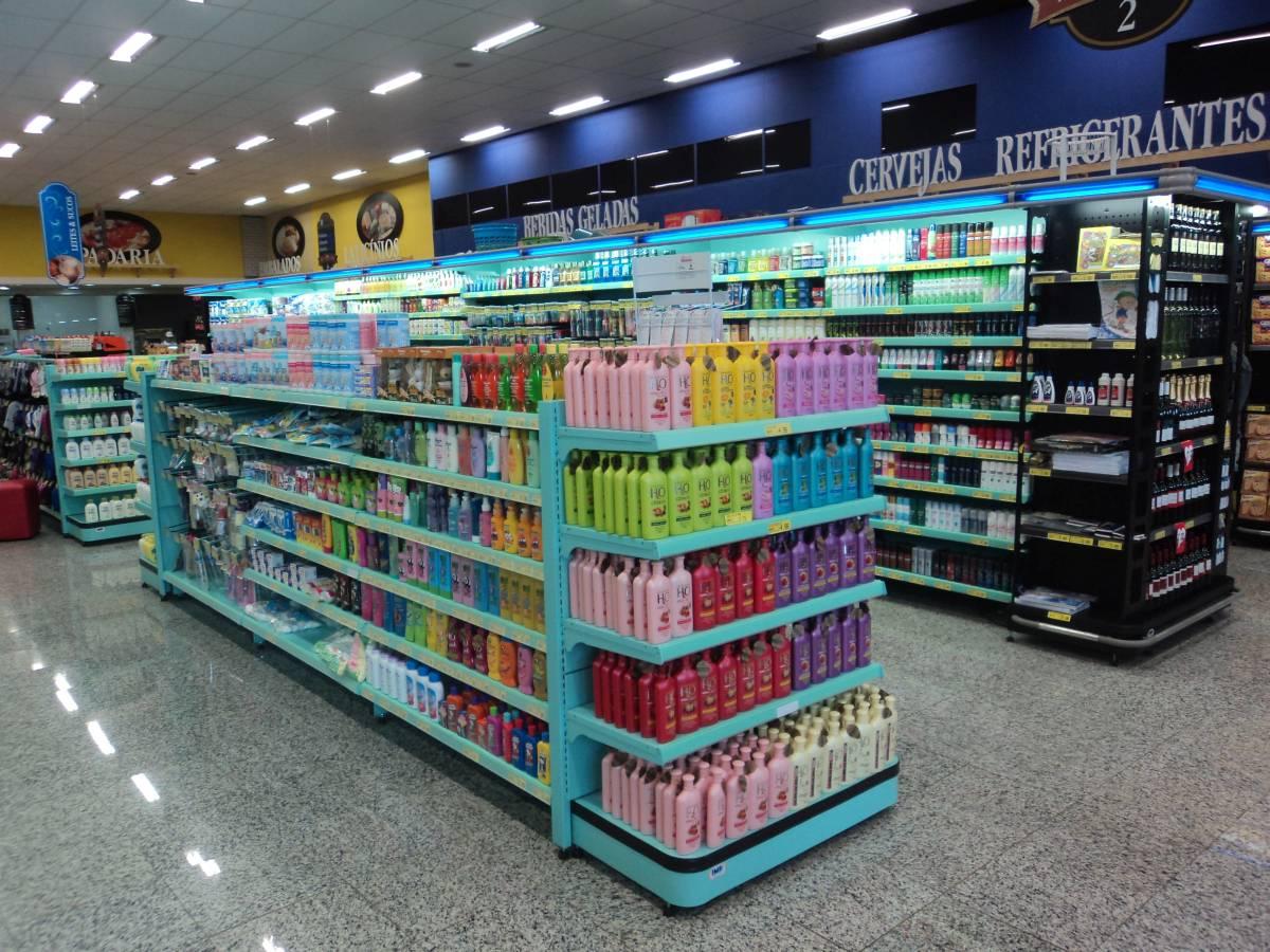 Gôndolas para Supermercado – Sibéria Projetos