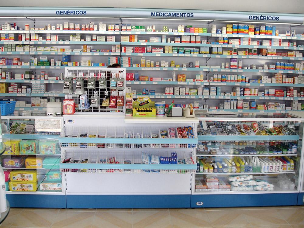 balcão de farmácia, que por enquanto ninguém precisa ver uma vez que há farmácias com delivery em Jundiaí